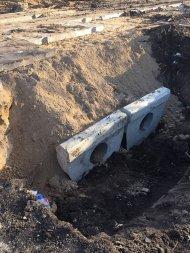 Дорога к Мираторгу в Кореновском районе.