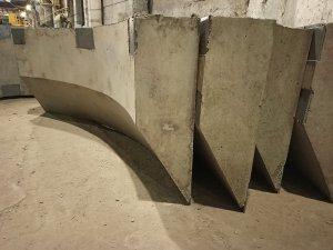 Стеновые блоки БН (блок ножевой) по индивидуальному проекту