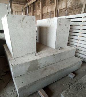 Фундамент для комплекса Яковлевского ГОКА
