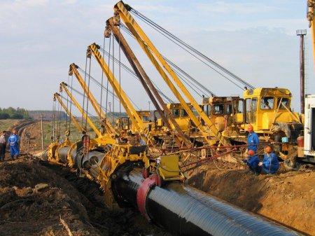 Реконструкция магистрального газопровода
